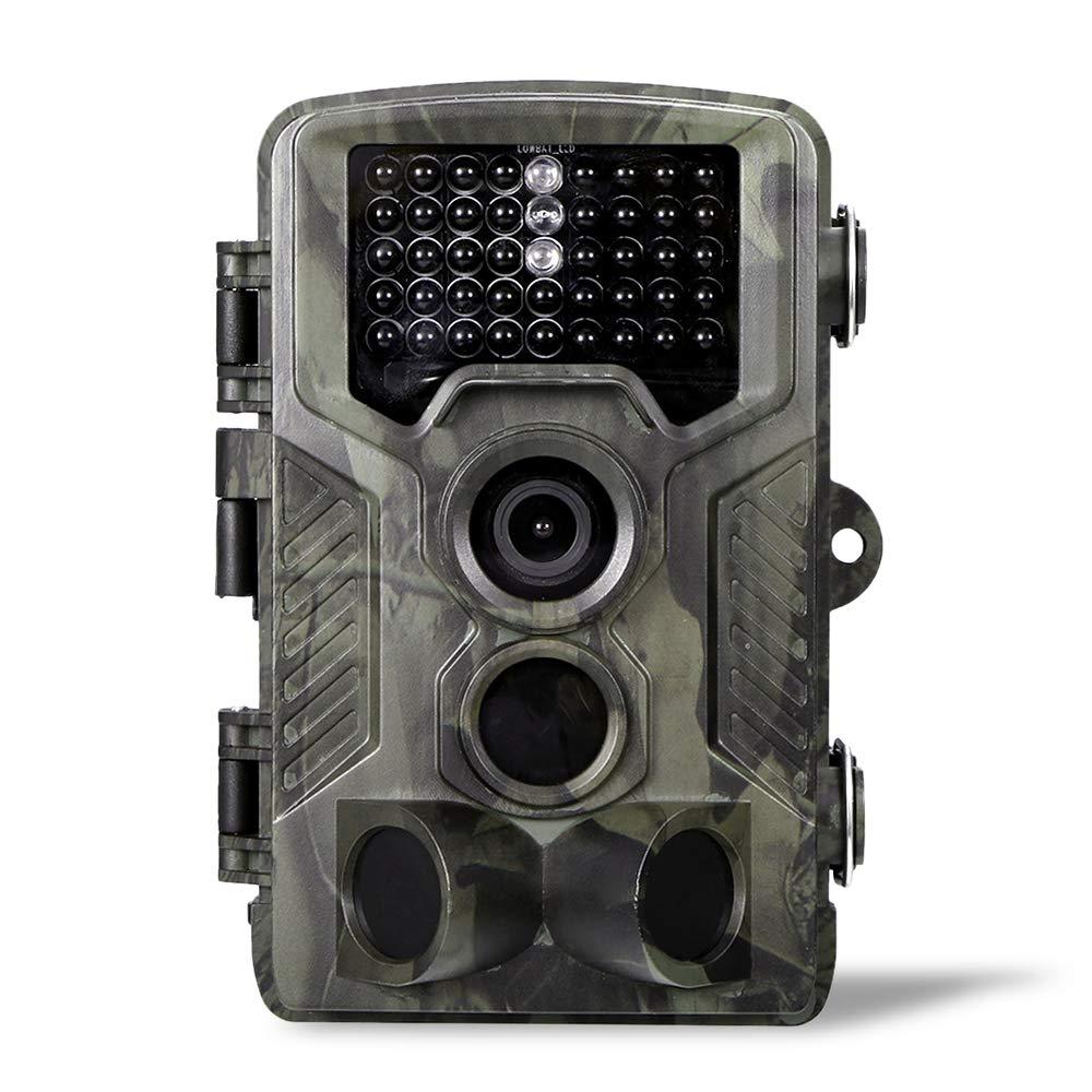Lixada Jagdkamera 16MP 1080P IP65 imprägniern 2G MMS SMS Kamera Outdoor Wildlife Scouting Kamera mit PIR-Sensor Infrarot-Nachtsicht 0, 3 Sekunden Super Fast Trigger