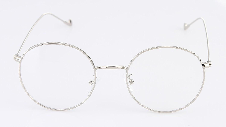EOZY-Donna Occhiali da Vista Retro Struttura Metallo Montatura Uomo Glasses (Colore 4) 0i9NcaER