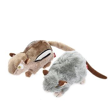 Petacc 2Pcs Juguetes de Perros/Gatos Juguetes Mascota Juguetes de Peluche para Perros/Gatos