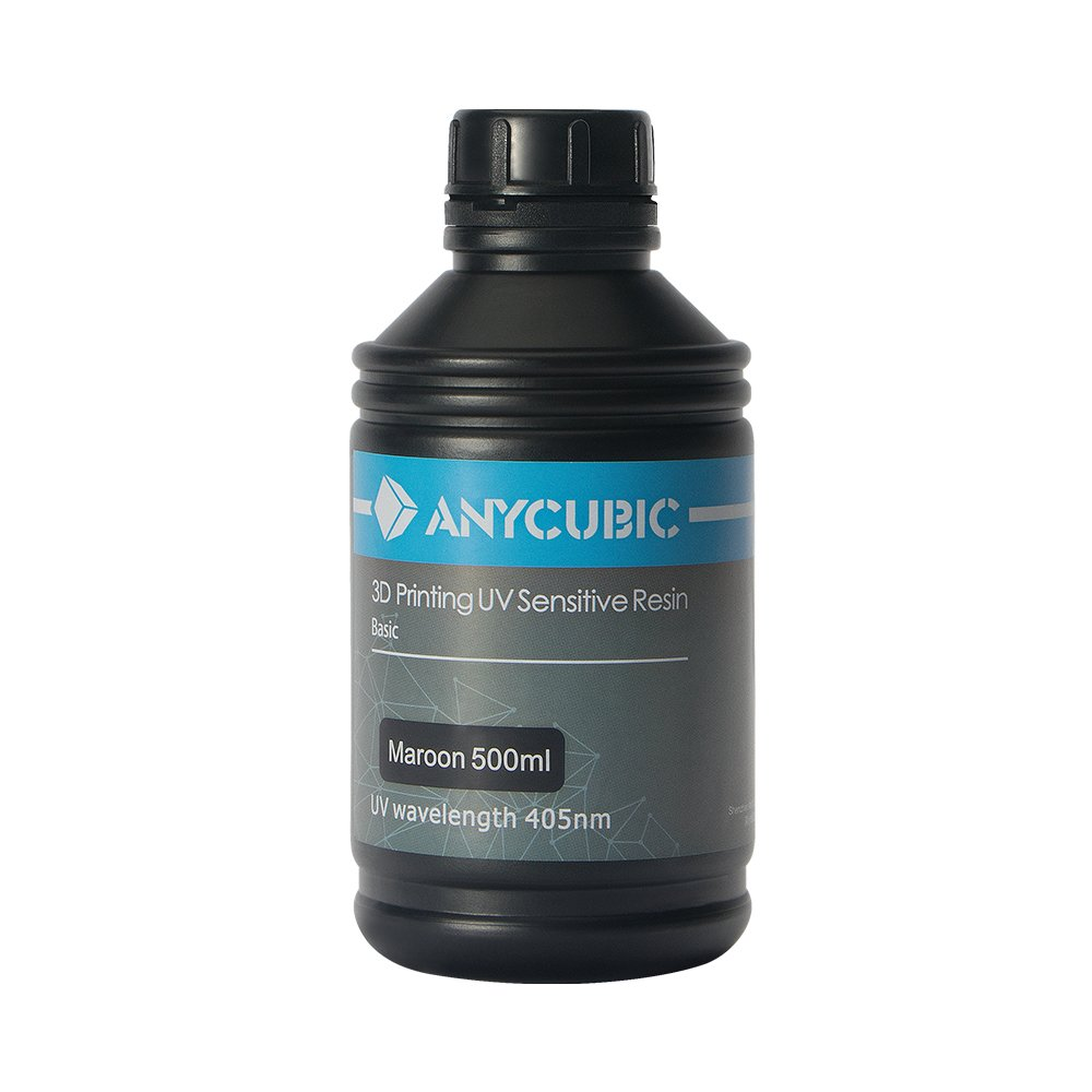 ANYCUBIC 3D PRINTER LCD Uv 405 nm Resin 500ml (Aqua Blue)