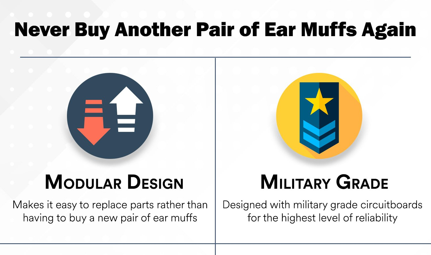 Pro Ears - ReVO - Hearing Protection - NRR 25 - Youth and Women Ear Muffs - Blue Rain by Pro Ears (Image #4)
