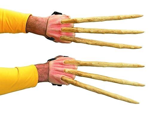 Amazon.com: X-Men Wolverine garras de hueso: Clothing