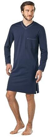 f99a50c947f97c Herren Nachthemd lang Seidensticker 100% Baumwolle