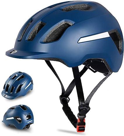 Fahrradhelm MTB Helm Schutzhelm Radhelm für Herren /& Damen Sicherheit Leicht