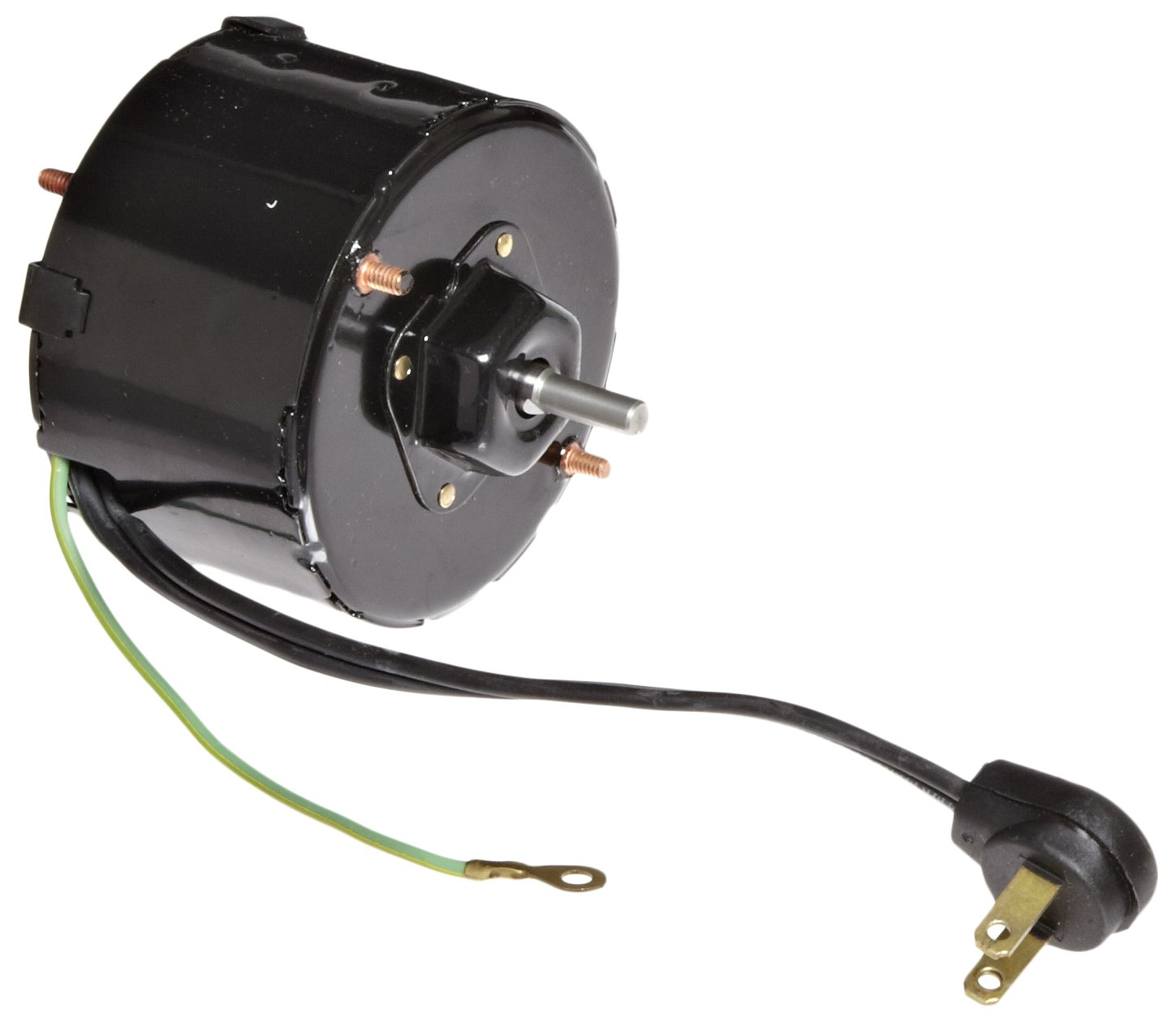 Fasco D1109 3.3'' Frame Totally Enclosed Shaded Pole General Purpose Motor with Sleeve Bearing, 1/100HP, 1500rpm, 115V, 60Hz, 0.65 amps