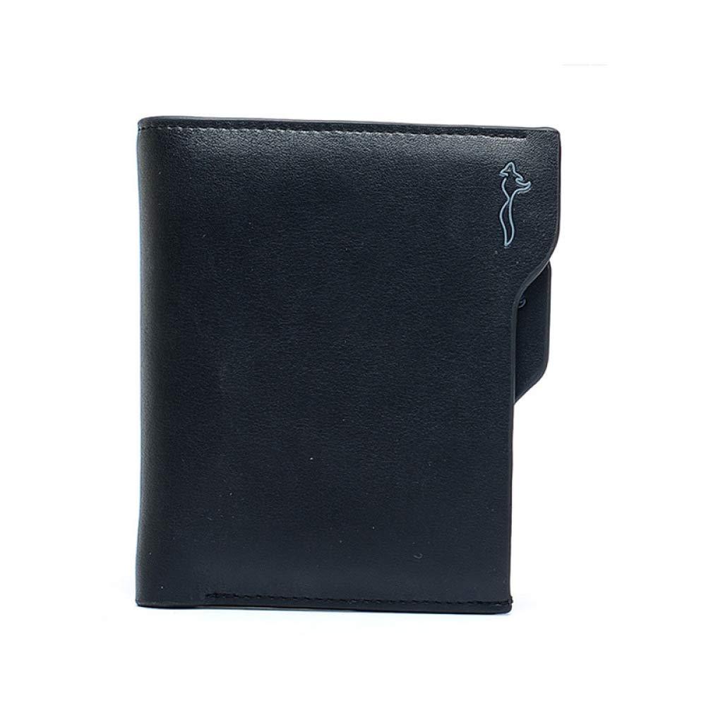 GAOQQ Multi-Karten-Bit Herrenbrieftasche Leder Short Business Style Wallet Mit Mit Mit 2 Farben (Schwarz Braun),schwarz B07GNG433S Geldbrsen 337e7d