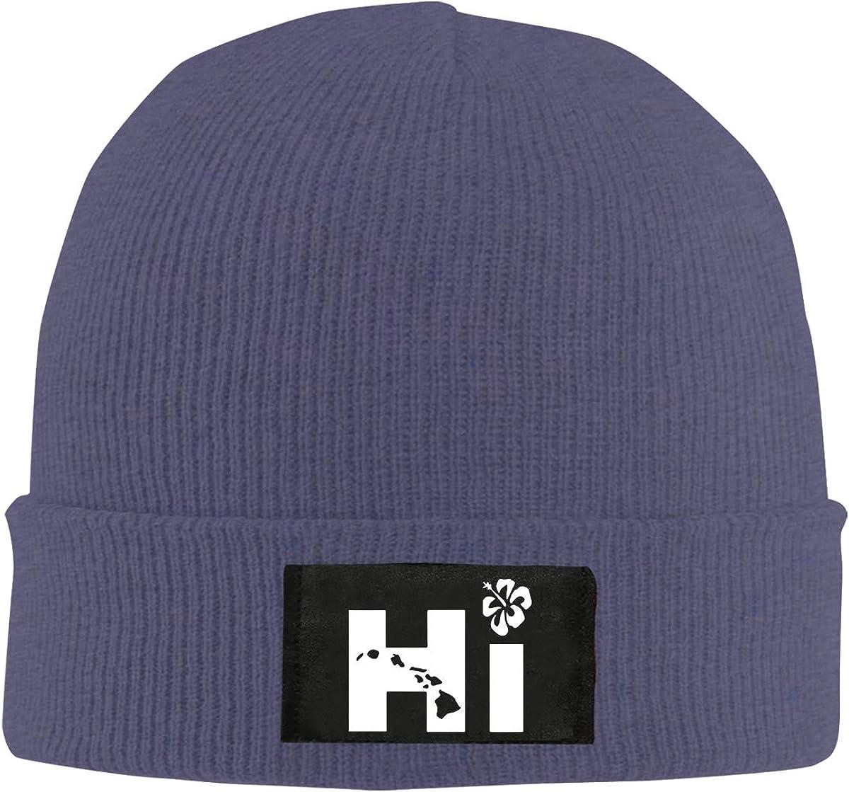 100/% Acrylic Trendy Skull Cap BF5Y6z/&MA Mens and Womens Hi Hawaiian Knit Cap