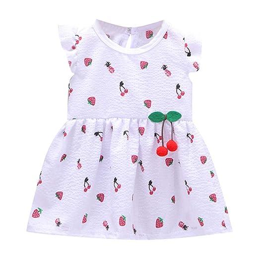 Hopwin baby dress Falda con Volador para niñas pequeñas, Vestido ...