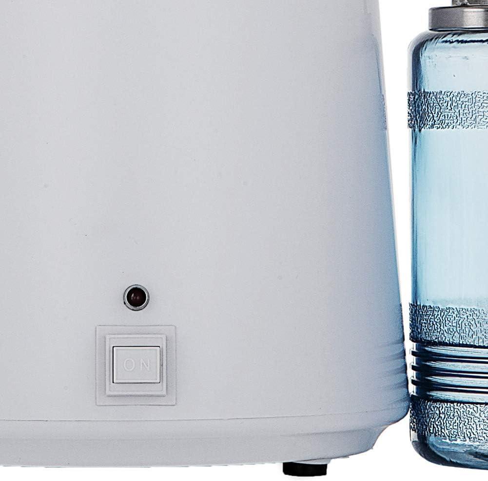 Fabricante del agua destilada, Destilador de agua de la máquina elimina eficazmente mayoría de las impurezas en el agua, la producción eficiente de agua destilada, simple operación, la protección: Amazon.es: Bricolaje y