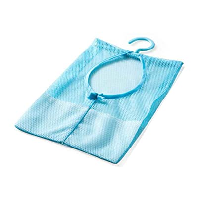 Sac de rangement multi-usages Clothespin Mesh pour Closet étendoir Collection Clip Regard Natral