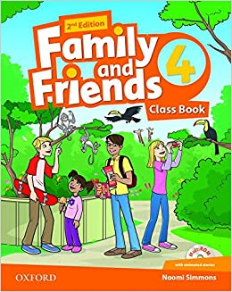 Family and friends 4 book
