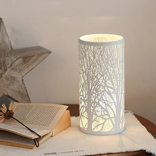 Lámpara de escritorio de lectura, lámpara de mesa de dormitorio ...
