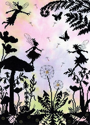 Bothy Threads Fairy Glade Enchanted Series Counted Cross Sti