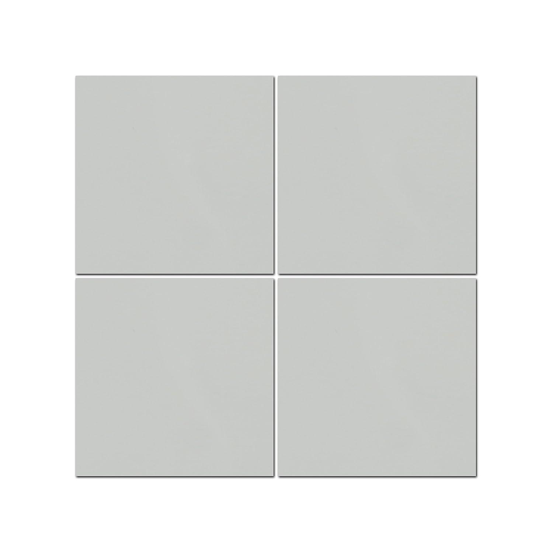 の高級壁4 Piece 20の正方形モダンパネル装飾ホームまたはビジネス、フルカスタム内部装飾壁パネル  Grey SG B00SIM2Y4W