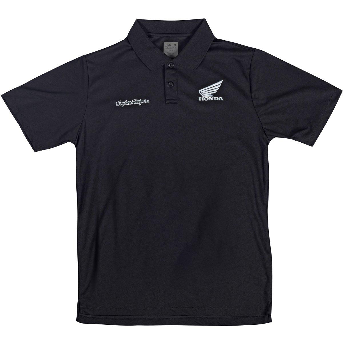 Troy Lee Designs Mens Honda Wing Polo Shirt