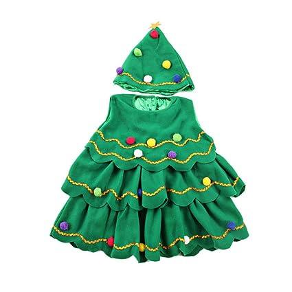 Bestoyard Disfraz De Navidad Para Ninos En Forma De Arbol De Navidad