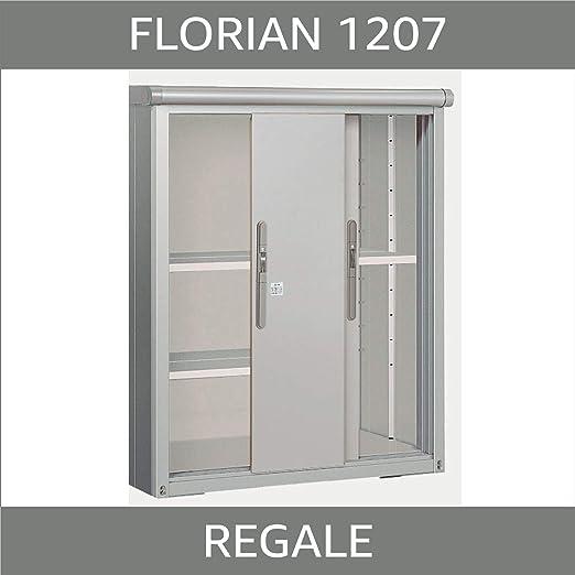 GFP Florian 1207 - Armario de herramientas (multiusos, armario de jardín, caja de jardín, armario de balcón,