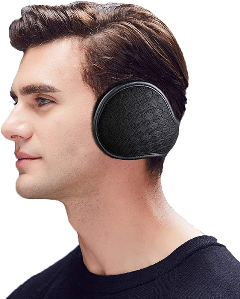 Amazon.com: Ear Muffs for Winter Men Women - Ear Warmers Covers - Foldable  Earmuffs Outdoor for Cold Weather: Clothing