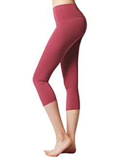 75c1dfe815 ACTICLO Plus Size Women's Tummy Control Sports Running Yoga Workout  Leggings Pants Hidden Pocket (XS