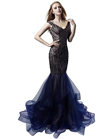 Clearbridal Womens Long Luxury Prom Dresses Mermaid Formal Party Gowns at Amazon Womens Clothing store: