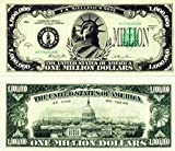 Set of 25 Classic Million Dollar Bills-Real Looking-Great Quality-Educational Product