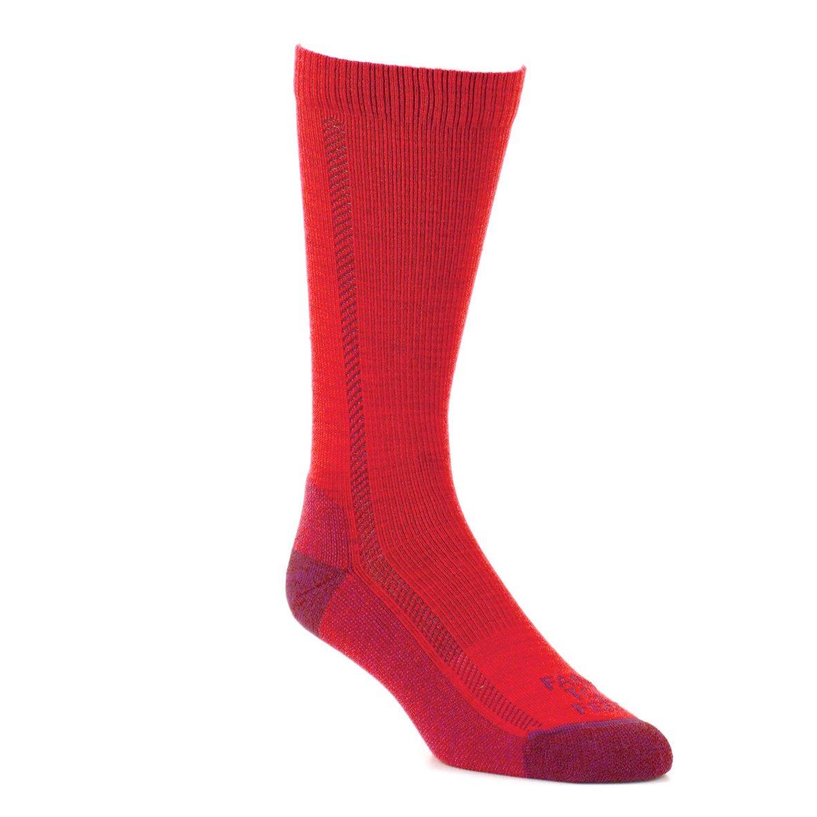 Farm to Feet Madison Lightweight Hiking Crew Socks, Virtual Pink, Medium by Farm to Feet