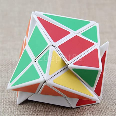5.8cm Turbo Master Skewb Magic Axis Cube Twist Puzzle Kids Speed Cube Toy