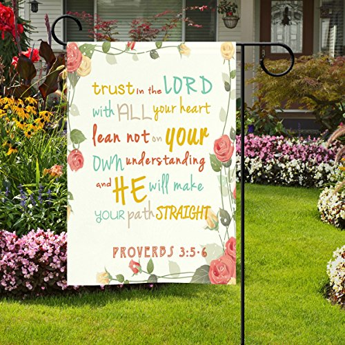 The 8 best garden flags with scripture