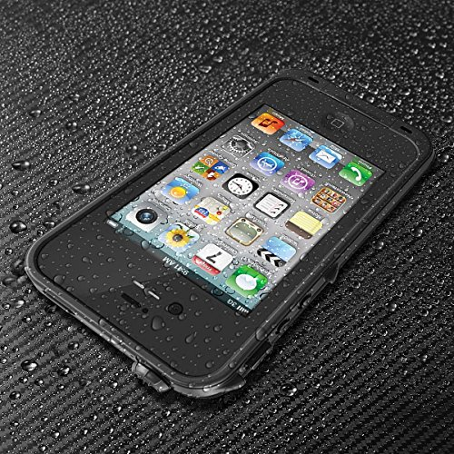 Price comparison product image MOBPROOF The FuLL Function waterproof Case For Iphone4 / 4s ( Black )