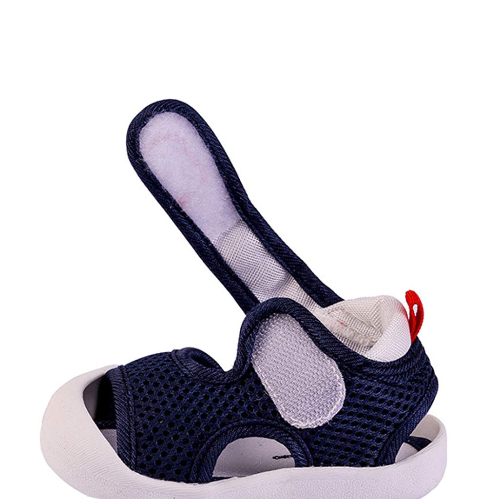 Annnowl Toddler Baby Summer Sandals Breathable Mesh Rubber Sole Shoes