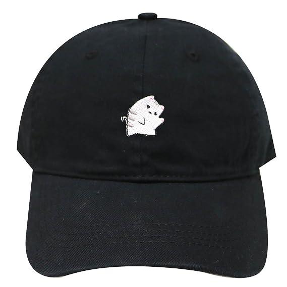 1a04ceaa808 Cute Cat Adjustable Strapback Baseball Cap Cute Cat Unisex Dad Baseball Cap  Trucker Snapback Hat at Amazon Women s Clothing store