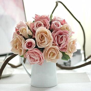 Deko Blumen unechte blumen künstliche deko blumen gefälschte blumen seidenrosen