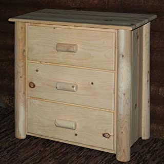 product image for Lakeland Mills Frontier Chest w 3 Drawers, Unfinished