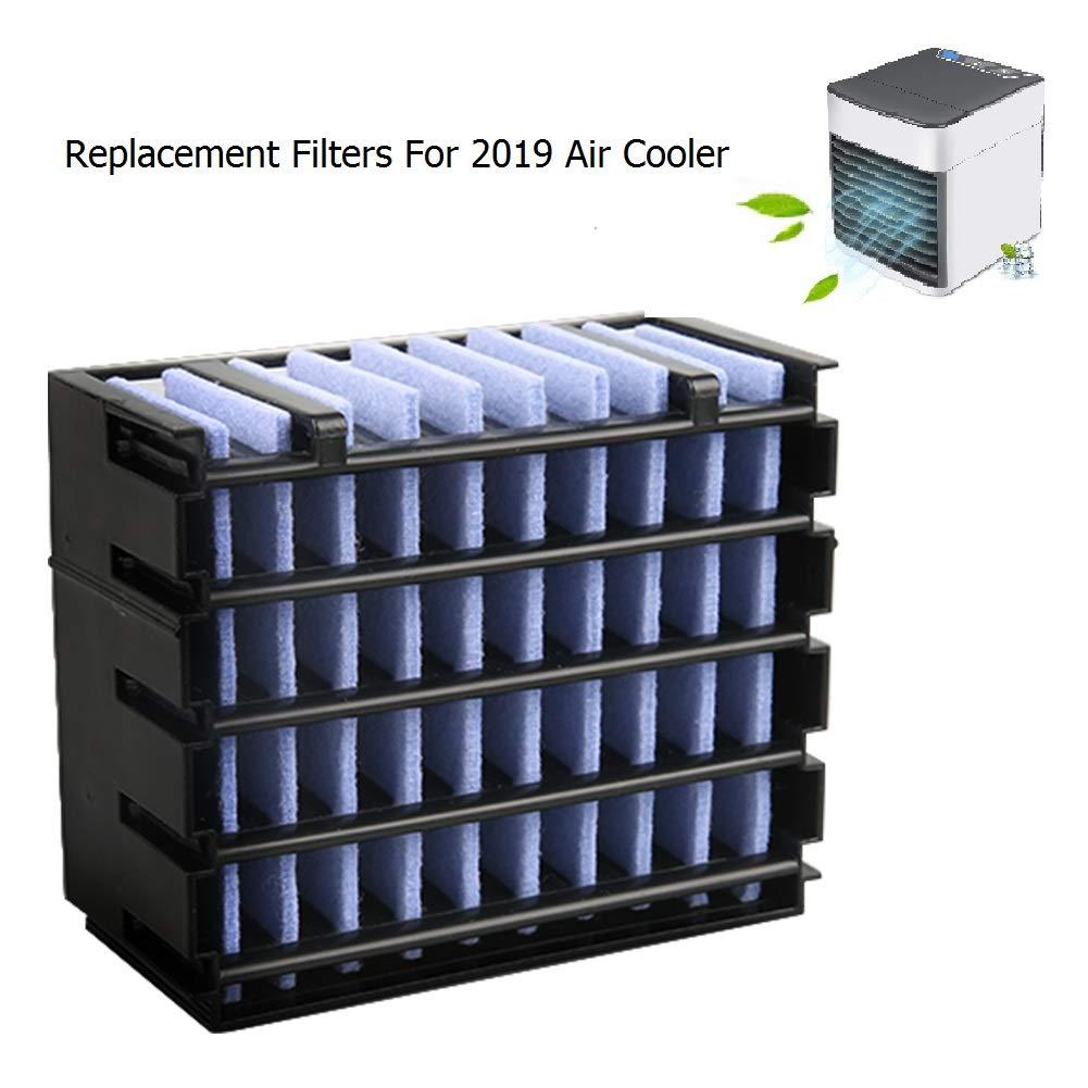 2019 Filtre Updated VersionVentilateur Table USB Climatiseur Portable Mini Muitifonction