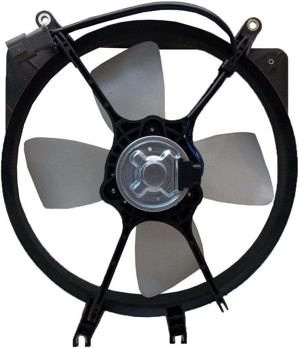 Replacement Radiator Cooling Fan Assembly For Honda Civic Civic del Sol