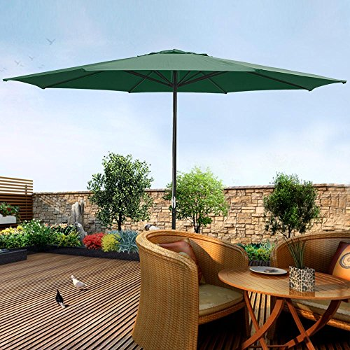 Yescom Shading Aluminum Umbrella Outdoor