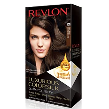 Amazon.com: Revlon Luxurious Colorsilk Buttercream, Dark Brown: Beauty