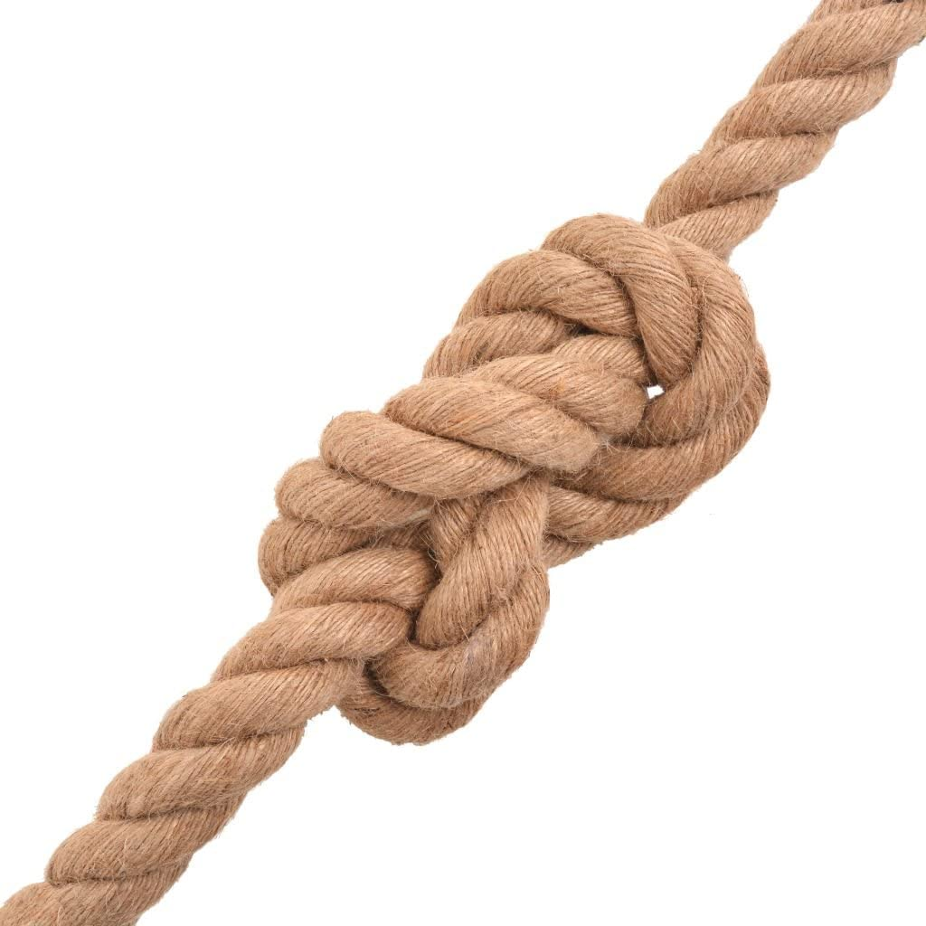 vidaXL 91273 100/% iuta canapa naturale corda di iuta 100 m 10 mm fune di canapa