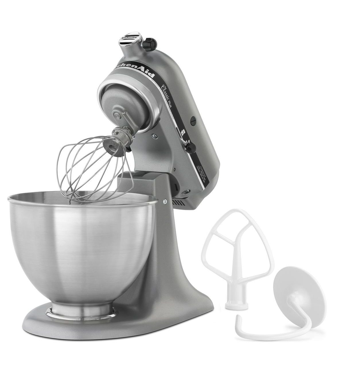 NEW KitchenAid 4.5-quart Tilt Head Stand Mixer w/bowl with handle