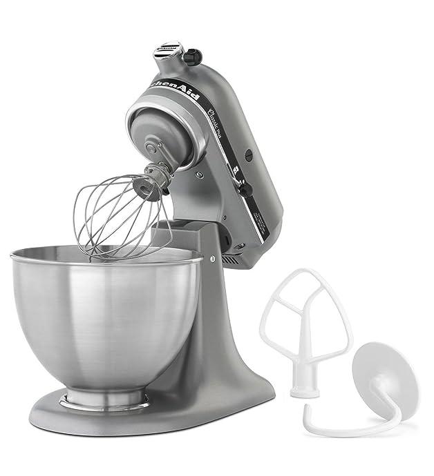 kitchenaid KSM75SL 家用厨师机 4.5夸脱 揉面机 5.6折$199.99 海淘转运到手约¥2391 中亚Prime会员免运费直邮到手约¥1556