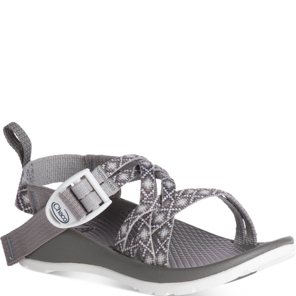 Chaco Baby ZX1 Ecotread Kids Sport Sandal, Diamond Gray, 10 Medium US Toddler