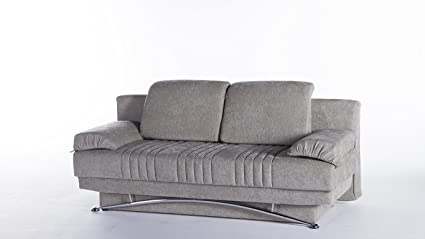 Amazon.com: Fantasy Modern Sofa Sleeper in Valencia Gray ...