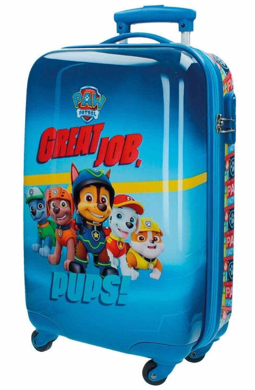 Paw Patrol Kabinenkoffer Kindergepäck, 33 Liter, Blau