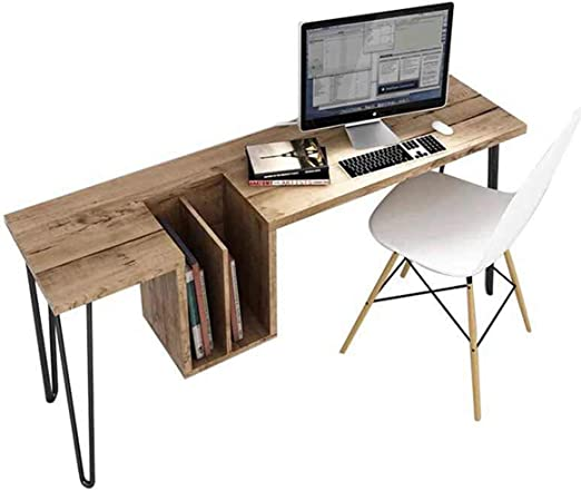 Escritorio de escritorio para ordenador elegante y moderno con ...
