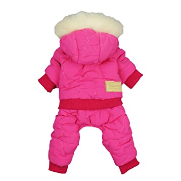 Amazon.com: Fitwarm - Ropa impermeable para perro, chaqueta ...