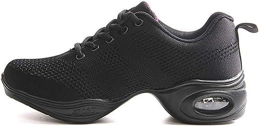 Jazz Dance Trainers Women/'s Mesh Fitness Sports Dancing Shoes Sneakers
