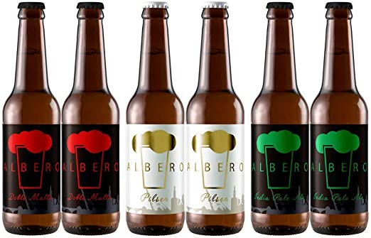 Six Pack Mixto | Cerveza Artesana Doble Malta + IPA + Pilsen ...