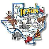 Texas State Jumbo Map Magnet