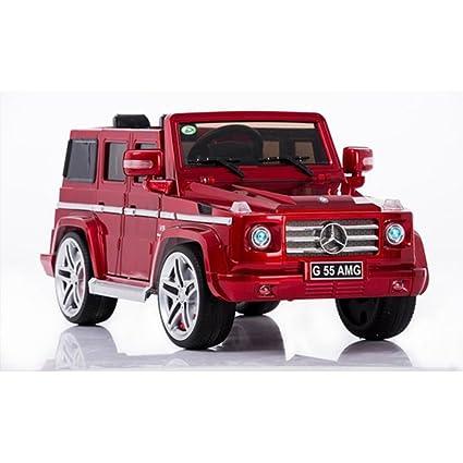 Evezo 12V Mercedes Benz G55 AMG, Red