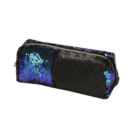 Amazon.com : Hennta 1PC Unisex Fashion Double Color Sequins ...